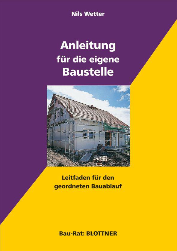 Buchcover Anleitung für die eigene Baustelle