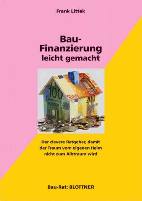 Buchcover Baufinanzierung leicht gemacht