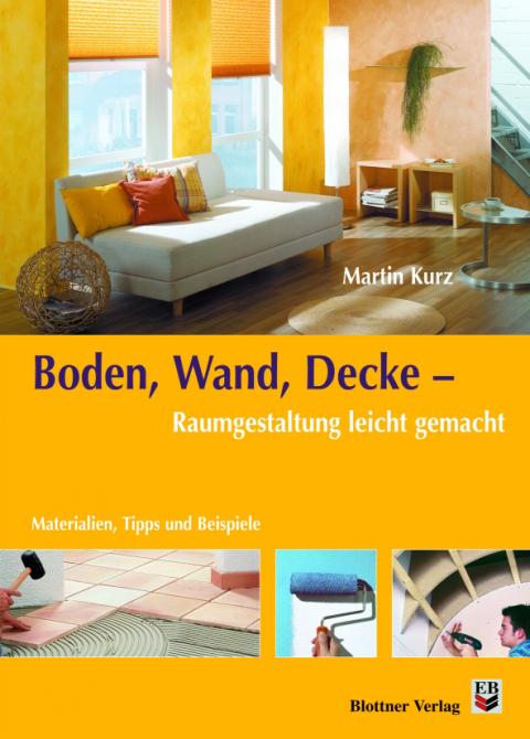 Buchcover Boden, Wand, Decke