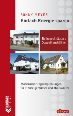 Buchcover Einfach Energie Sparen: Reiheneckhäuser und Doppelhaushälften