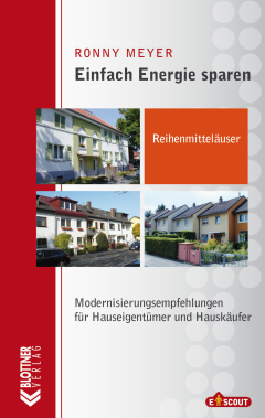 Buchcover Einfach Energie Sparen: Reihenmittelhäuser