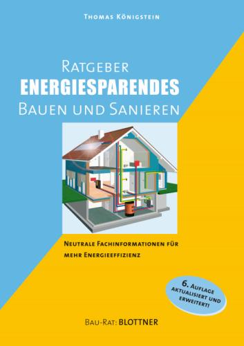 Buchcover Ratgeber Energiesparendes Bauen und Sanieren