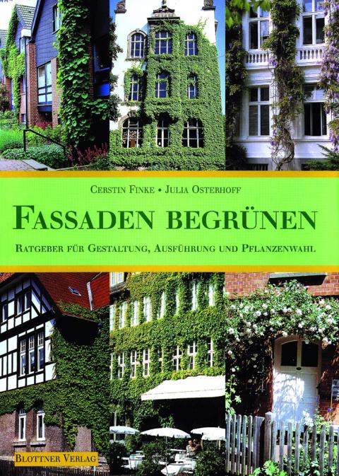Buchcover Fassaden begrünen