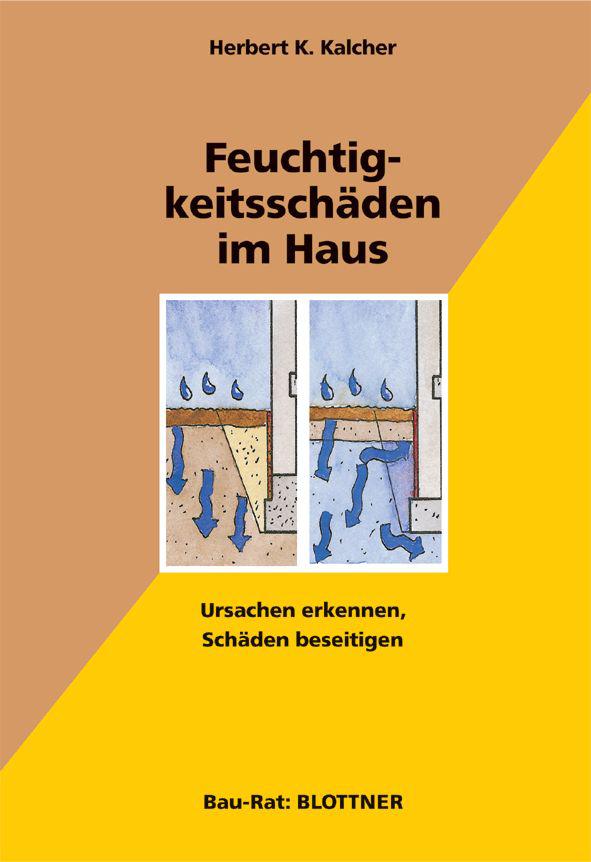 Buchcover Feuchtigkeitsschäden im Haus