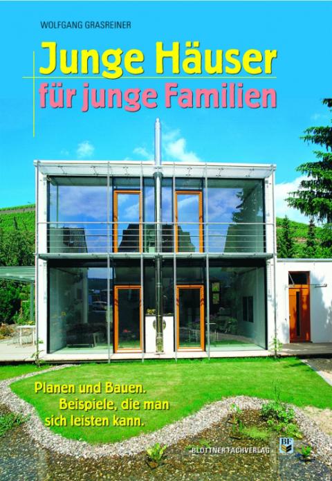 Buchcover Junge Häuser für junge Familien