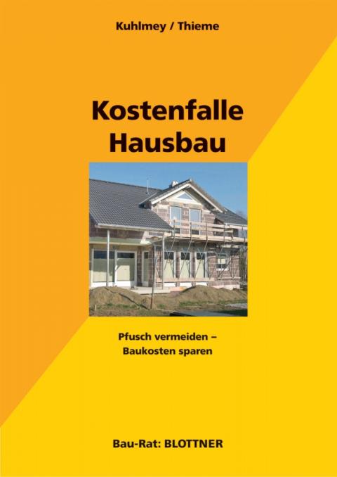Buchcover Kostenfalle Hausbau