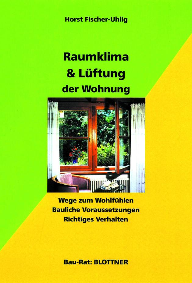 Buchcover Raumklima und Lüftung der Wohnung