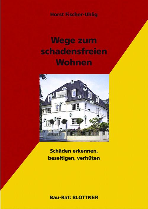 Buchcover Wege zum schadensfreien Wohnen