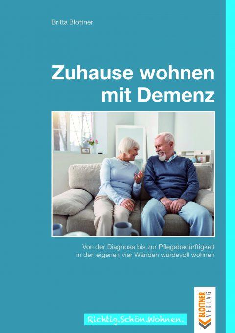 Titelbild des Buches Zuhause wohnen mit Demenz